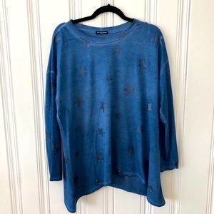 Cha Cha Vente Blue Star pullover long sleeve